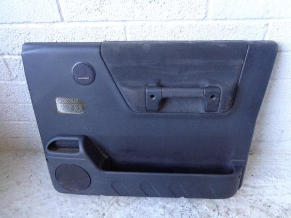 Discovery 2 Door Cards Set of x4 Black Land Rover 1998 to 2004 17099