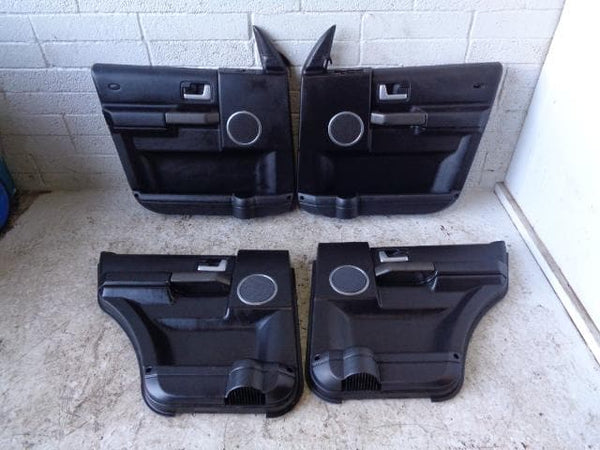 Discovery 3 Door Cards Set of x4 Black Land Rover 2004 to 2009 P15010