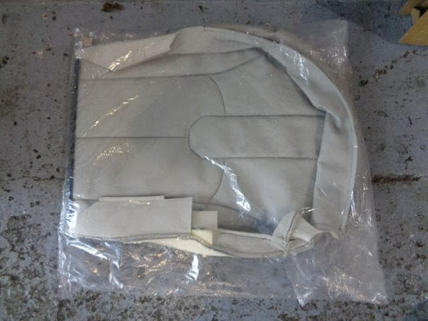 Range Rover Evoque Seat Cover Front Lower In Grey Leather LR056757 #RVS