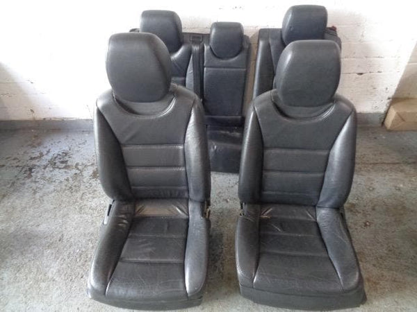 Cayenne Black Leather Seats Electric Porsche 955 (2003-2007) #2008
