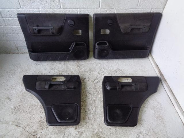 Discovery 2 Door Cards Set of x4 Black Land Rover 1998 to 2004 20129 XXX