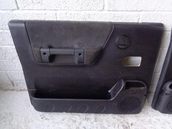 Discovery 2 Door Cards Set of x4 Black Land Rover 1998 to 2004 20129