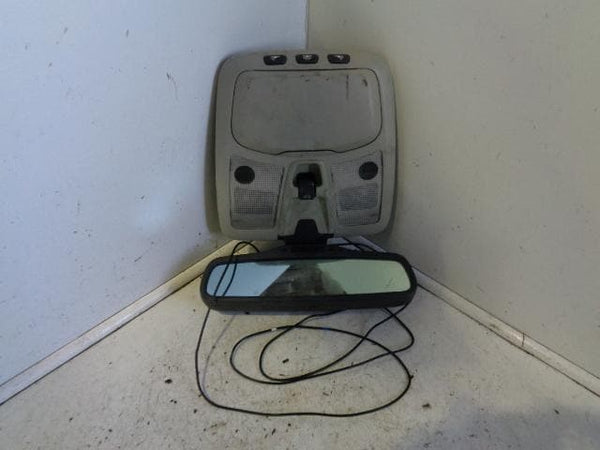 2002 - 2006 VOLVO XC90 AUTO DIMMING REAR MIRROR OVERHEAD PANEL #1711