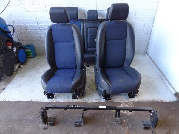 Freelander 2 Seats Set of Electric Half Leather Land Rover SE 2006 to  B1109 XXX
