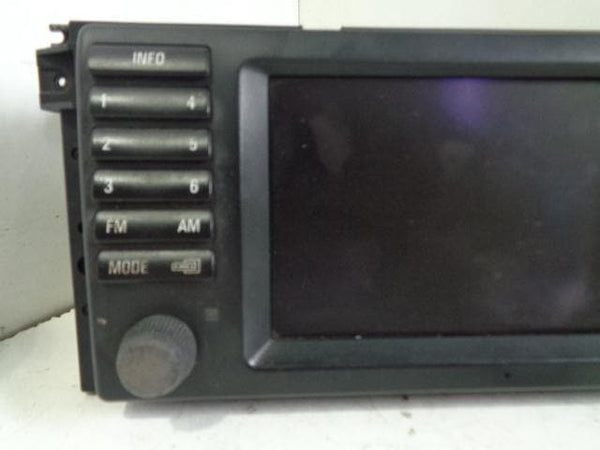 2002 -  2006 BMW X5 APLINE SAT NAV GPS NAVIGATION SCREEN 65-52-6 934 413 #17108