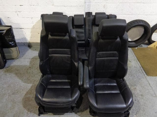 2005 - 2009 RANGE ROVER SPORT HSE L320 BLACK LEATHER SEATS WITH ARM RESTS #2911