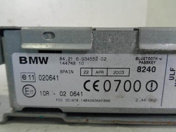 2000 - 2006 BMW X5 E53 TELEPHONE BLUETOOTH ULF MODULE 84 21 6 934552 02