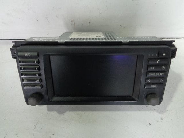 BMW X5 E53 ALPINE GPS NAVIGATION SCREEN 65.52-6934413 #18098 XXX