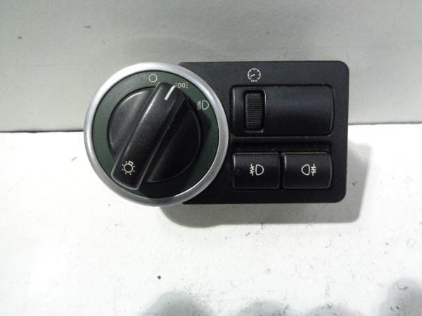 Range Rover L322 Headlight Switch Controls Green Surround LRGYUD000161PUY