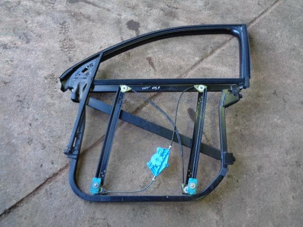 2002 - 2007 VOLKSWAGEN VW TOUAREG 7L NEAR SIDE FRONT WINDOW REGULATOR AND FRAME