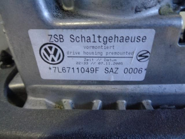 2002 - 2007 VOLKSWAGEN VW TOUAREG 7L 6 SPEED MANUAL GEAR SELECTOR 7L6711049F