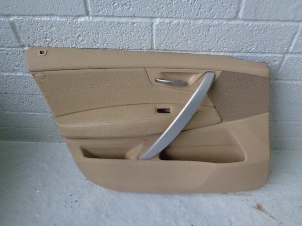 BMW X3 E83 Door Cards Cream Leather set of 4 LCi 2006 to 2010 B12020 XXX