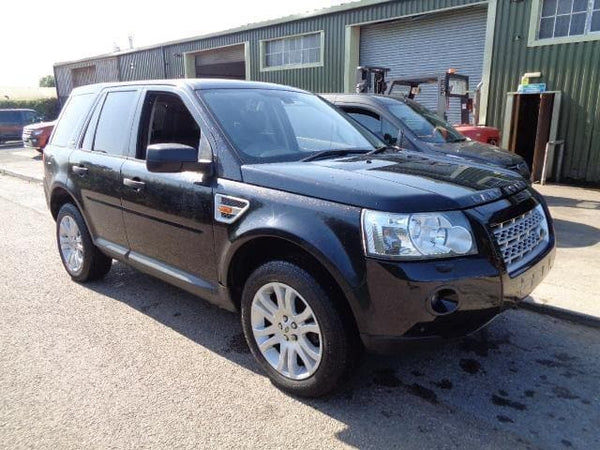 CURRENTLY BREAKING... 2007 LAND ROVER FREELANDER 2 - 2.2 TD4 HSE MANUAL BLACK