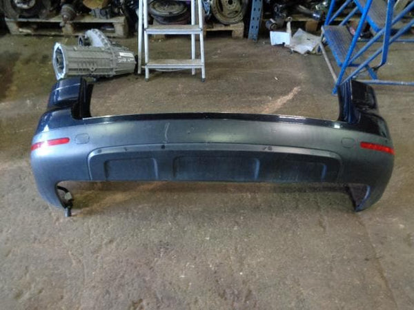 2002 - 2007 VOLKSWAGEN VW TOUAREG 7L REAR BUMPER IN DIAMOND BLACK LC9Z  #0202