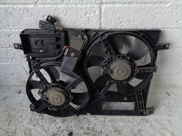 Freelander 1 Fans Twin Main Engine Cooling TD4 2.0 Land Rover 2001 to 2006