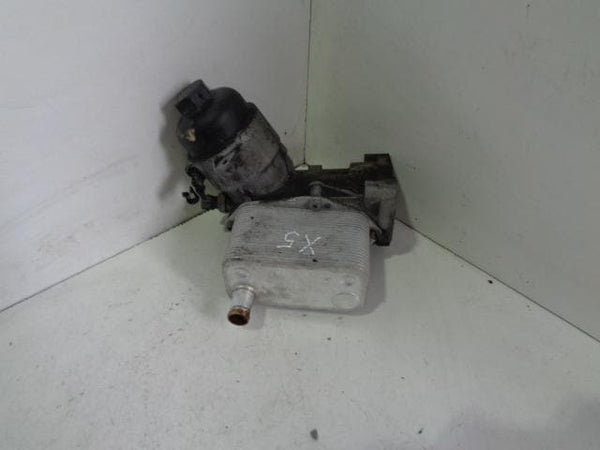 2000 - 2006 BMW X5 E53 3.0D M57 ENGINE OIL FILTER HOUSING AND OIL COOLER