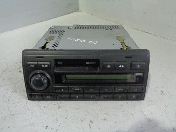 Discovery 2 Stereo Head Unit Radio Cassette Player XQD000110LNF Alpine XXX