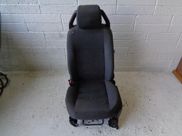 Discovery 3 Front Seats Pair Of Black Cloth Land Rover (2004-2009) #29118