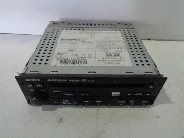 1999 - 2006 MITSUBISHI SHOGUN PAJERO RADIO STEREO CD PLAYER MZ312720 #24098