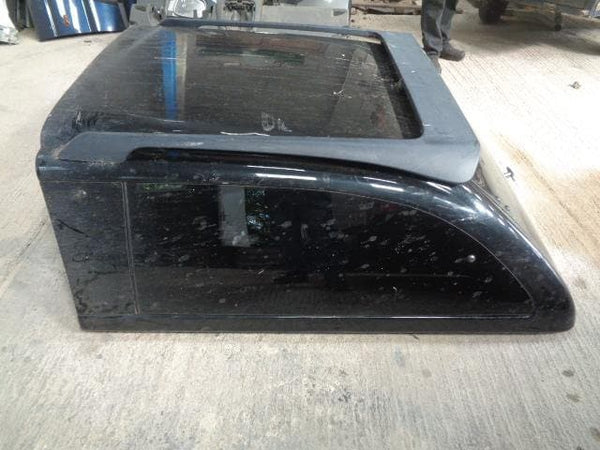 1998 - 2006 MITSUBISHI L200 K74 DOUBLE CAB REAR CANOPY / HARDTOP IN BLACK