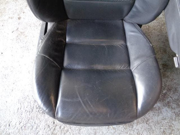2005 - 2009 RANGE ROVER SPORT HSE L320 BLACK LEATHER SEATS #25098