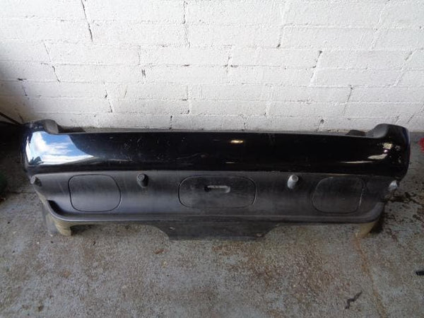 01 - 06 BMW X5 E53 REAR BUMPER WITH PARKING SENSORS BLACK SAPPHIRE 475/9 #25098