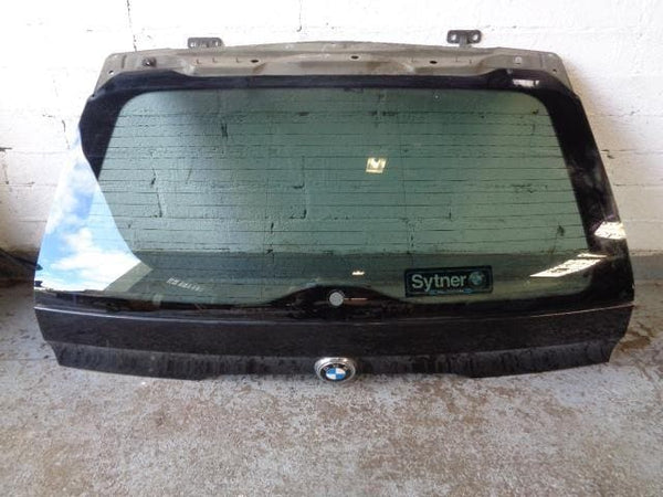 2001 - 2006 BMW X5 E53 UPPER TAILGATE AND GLASS IN SAPPHIRE BLACK #25098