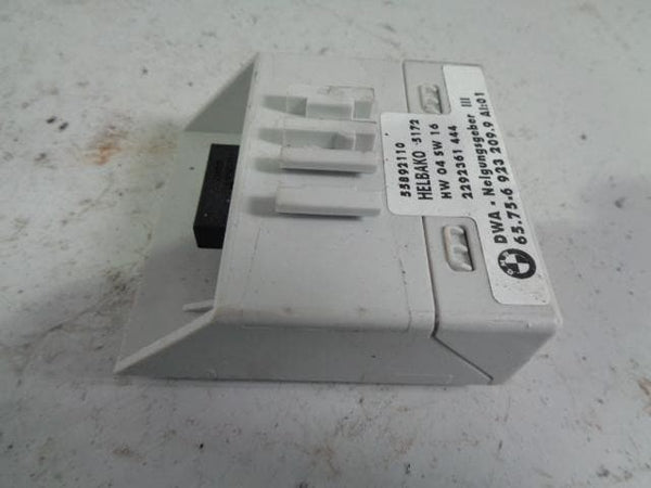 BMW X5 Alarm Inclination Tilt Sensor 65 75 6923209 9 E53 2001 to 2006