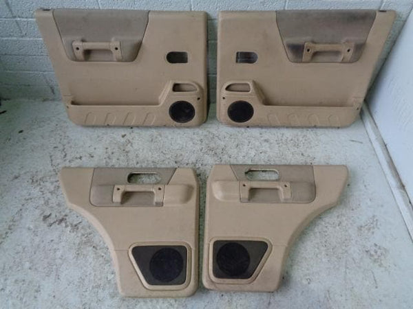 Discovery 2 Door Cards Set of 4 In Beige Land Rover 1998 to 2004 B22109