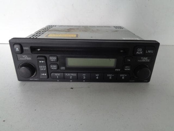 2002 - 2006 HONDA CR-V 2.2 CDTI RADIO CD PLAYER HEAD UNIT STEREO 39101-S9A-E210