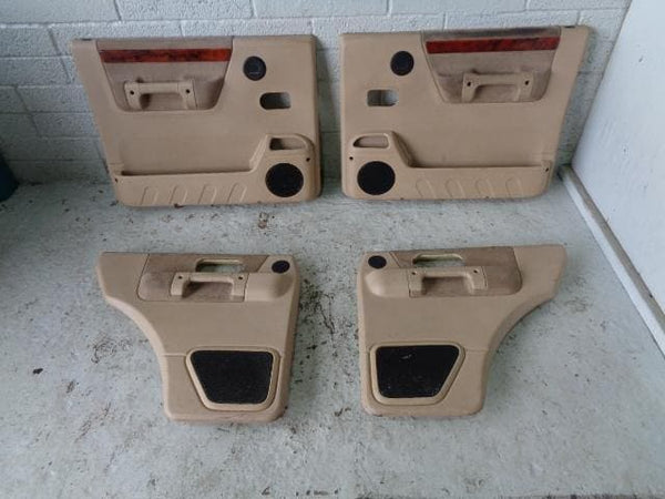 Discovery 2 Door Cards Set of 4 In Beige Land Rover 1998 to 2004 B04099 XXX