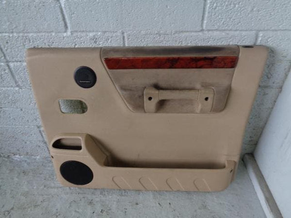 Discovery 2 Door Cards Set of 4 In Beige Land Rover 1998 to 2004 B04099