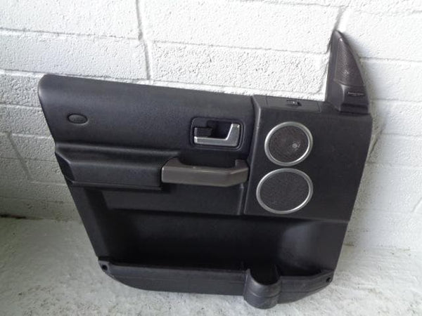 Discovery 3 Door Cards Black x4 Harman Kardon Logic 7 2004 to 2009 01109