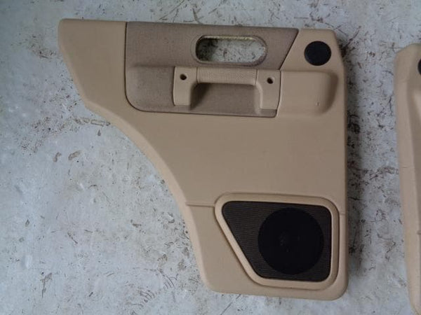 Discovery 2 Door Cards Set of 4 in Beige Land Rover 1998 to 2004 B27010