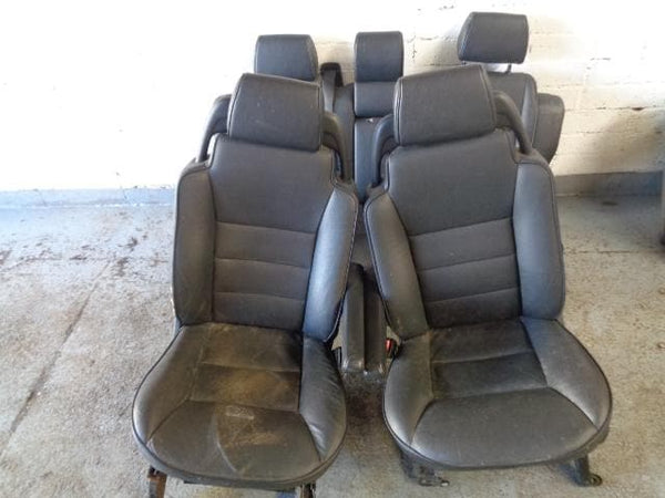 98 - 04 LAND ROVER DISCOVERY 2 BLACK LEATHER ES ELECTRIC & HEATED SEATS #2903