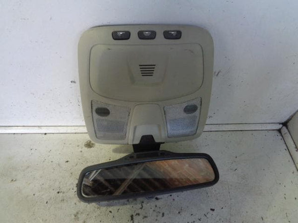 2002 - 2006 VOLVO XC90 AUTO DIMMING REAR MIRROR OVERHEAD PANEL INTERIOR LIGHT