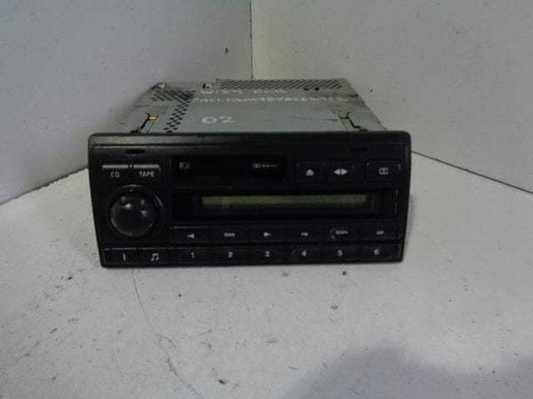 Discovery 2 Stereo Radio Cassette CD Player Head Unit XQD101690LNF #08019