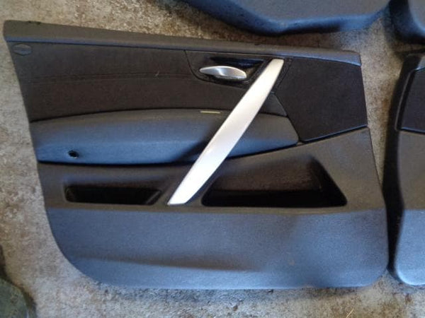 2006 - 2009 BMW X3 LCI E83 SET OF 4x DOOR CARDS IN BLACK #2404
