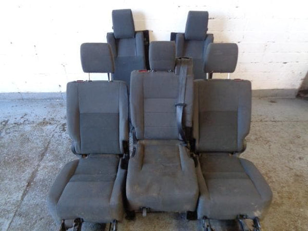 2004 - 2009 LAND ROVER DISCOVERY 3 REAR GREY CLOTH SEATS CONVERSION SET #1804