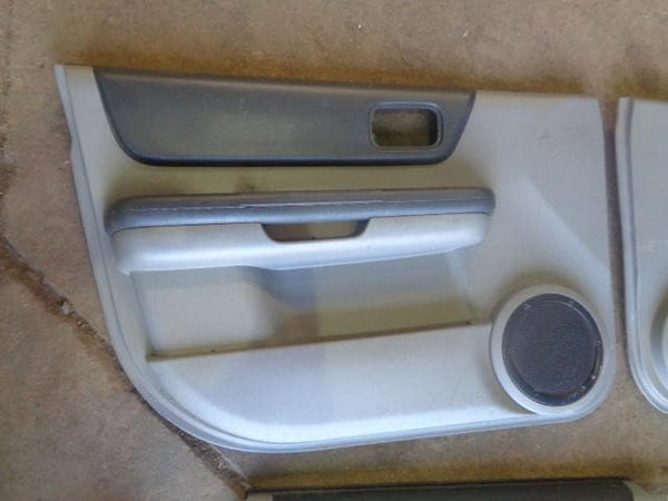 2001 - 2007 NISSAN X-TRAIL SET OF 4 GREY DOOR CARDS #0905