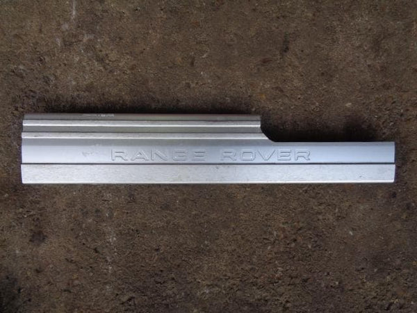 RANGE ROVER L322 FULL SET OF GENUINE KICK SCUFF PLATES 2009 #14 XXX