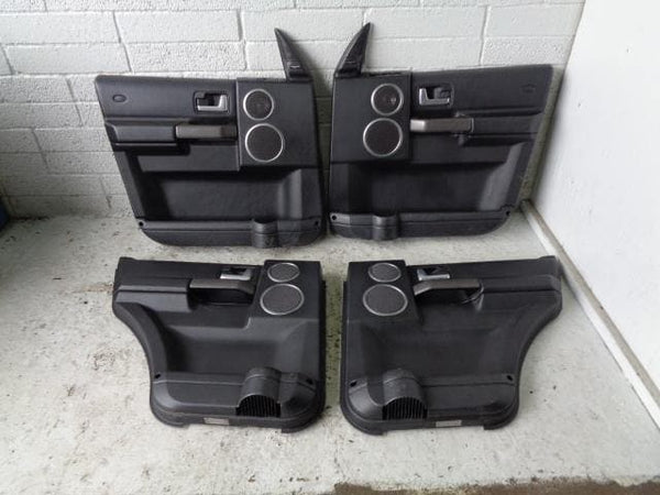 Discovery 3 Door Cards Black HSE For Harman Kardon Logic 7 Speakers  XXX