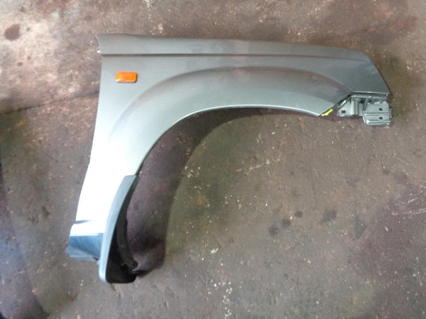 2002 - 2007 NISSAN X-TRAIL T30 OFF SIDE FRONT WING IN SILVER KX4 #2703