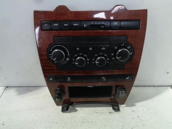 Jeep Grand Cherokee Heater Air Con Controls Wood Fascia WK #S22118