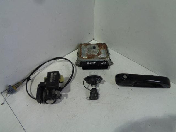 Jeep Grand Cherokee Lock Set ECU Key Ignition Door Lock 3.0 CRD WK #S22118