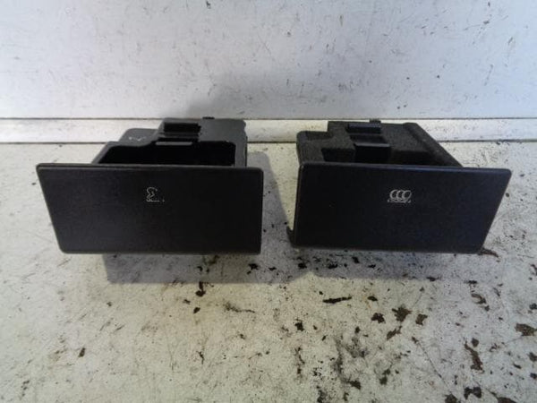 2002 - 2004 LAND ROVER DISCOVERY 2 COIN & ASHTRAY DRAWS BLACK PAIR