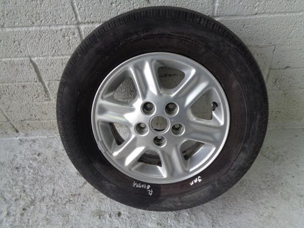 "Freelander 1 15"" Alloy Wheels And Tyres 205/70R15 Land Rover (1998-06) #11039A"