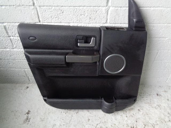 Discovery 3 Door Cards Set of 4 in Black Land Rover 2004 to 2009 B27020 XXX