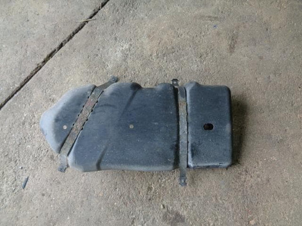 2003 - 2007 PORSCHE CAYENNE 955 NEAR SIDE BOTTOM FUEL TANK COVER WITH STRAPS