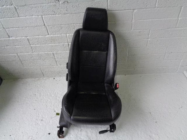Freelander 1 Front Seats Leather Pair Of Black Manual Land Rover (2001-2006) #P14019